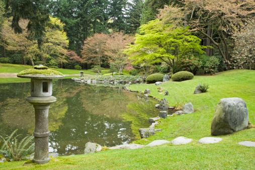 Japanese Maple「Japanese park」:スマホ壁紙(2)