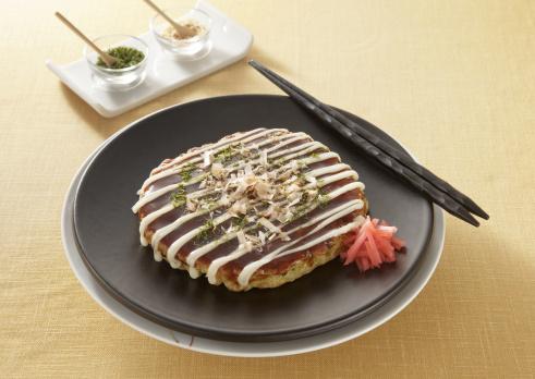 Mayonnaise「Japanese pancake, Okonomiyaki」:スマホ壁紙(1)