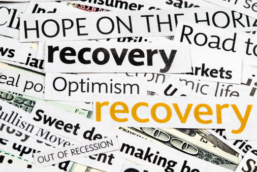 Healing「Economy recovery: News Headlines - VI」:スマホ壁紙(12)