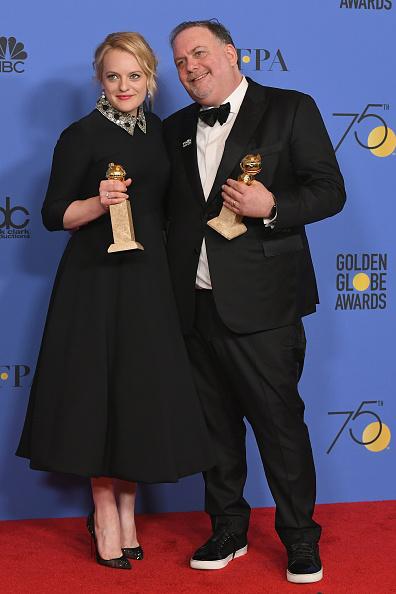 Christian Dior Shoe「75th Annual Golden Globe Awards - Press Room」:写真・画像(13)[壁紙.com]