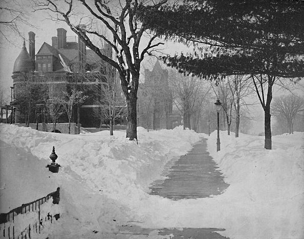 Footpath「Summit Avenue In Winter」:写真・画像(7)[壁紙.com]