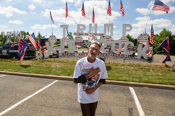 オハイオ州「President Trump Holds Rally In Youngstown, Ohio」:写真・画像(18)[壁紙.com]