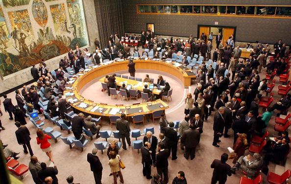 Destruction「Delegates Gather For United Nations Security Council Meeting」:写真・画像(5)[壁紙.com]