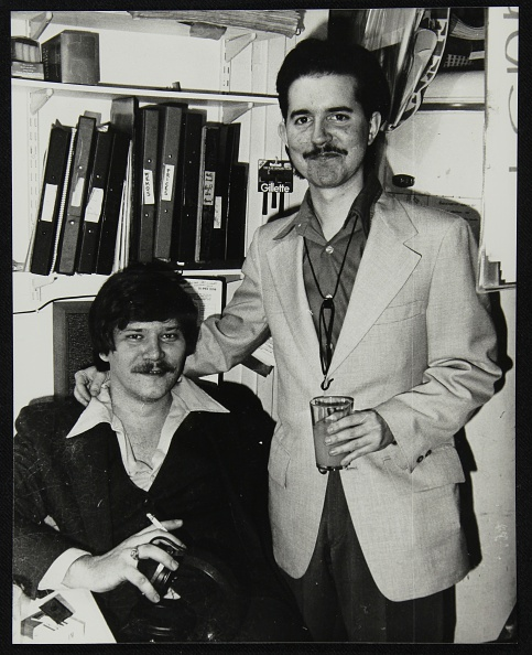 Drinking Glass「Warren Vache and Scott Hamilton at the Pizza Express, London, 16 February, 1979. Artist: Denis Williams」:写真・画像(0)[壁紙.com]