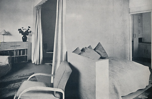 Flat - Physical Description「A Studio Living-Room In One Of The Isokon Lawn Road Flats」:写真・画像(13)[壁紙.com]