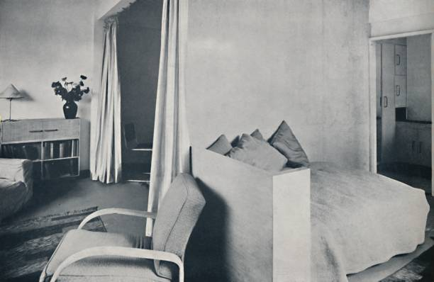 A Studio Living-Room In One Of The Isokon Lawn Road Flats:ニュース(壁紙.com)