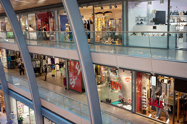 Multistorey shopping center:スマホ壁紙(壁紙.com)