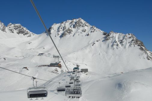 St Anton am Arlberg「Heated Chairlift in Ski-Resort」:スマホ壁紙(4)