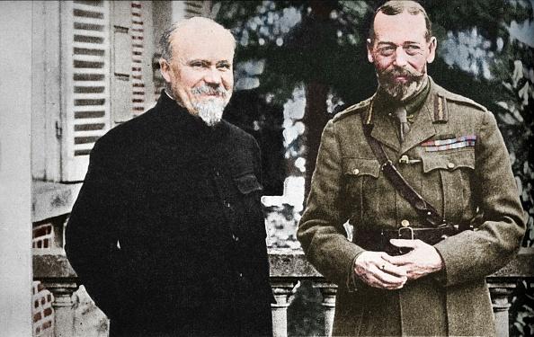 カラー画像「His Majesty With President Poincare At The British General Headquarters In France」:写真・画像(7)[壁紙.com]