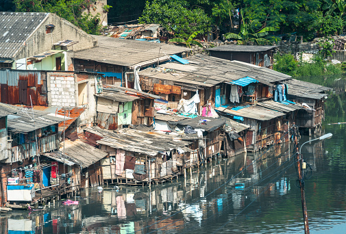 Housing Project「Slum houses in Jakarta, Indonesia」:スマホ壁紙(7)