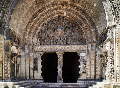 Abbey - Monastery「South portal of the Moissac Abbey」:スマホ壁紙(15)