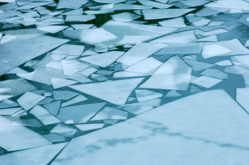 氷「'Frozen lake, close-up'」:スマホ壁紙(8)