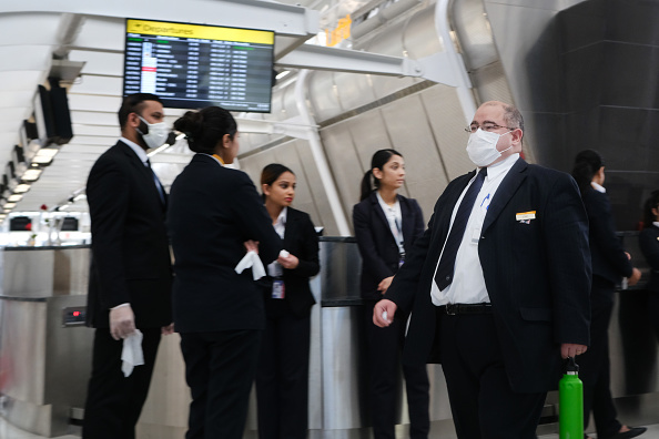 New York City「Airline Industry On Edge As Coronavirus Continues To Spread」:写真・画像(11)[壁紙.com]