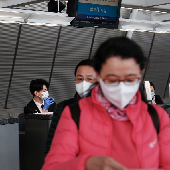Kennedy Airport「Airline Industry On Edge As Coronavirus Continues To Spread」:写真・画像(14)[壁紙.com]