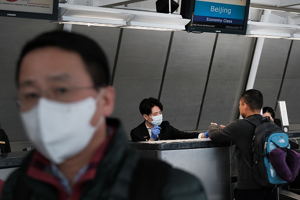 Kennedy Airport「Airline Industry On Edge As Coronavirus Continues To Spread」:写真・画像(13)[壁紙.com]