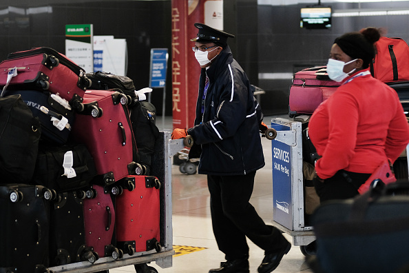 Kennedy Airport「Airline Industry On Edge As Coronavirus Continues To Spread」:写真・画像(17)[壁紙.com]