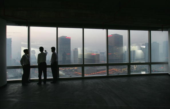Financial District「Beijing Streets Crowded Despite Improvements」:写真・画像(4)[壁紙.com]