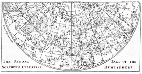 Latitude「Star chart from 18th century」:スマホ壁紙(14)