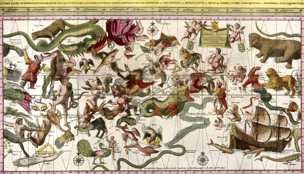 星空「Star Chart of the Northern Hemisphere」:写真・画像(14)[壁紙.com]