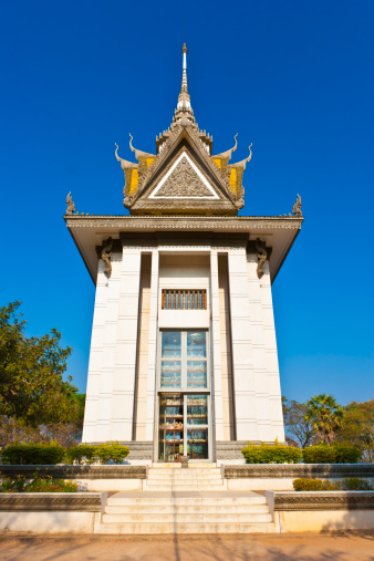 Hell「Memorial Stupa, Killing Fields, Cambodia」:スマホ壁紙(2)