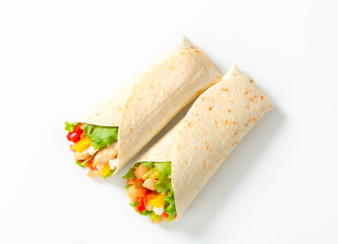 Tortilla - Flatbread「mexican fajitas (tortilla wraps)」:スマホ壁紙(2)