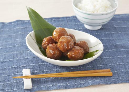 日本食「Meatballs」:スマホ壁紙(14)