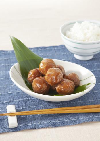 日本食「Meatballs」:スマホ壁紙(13)