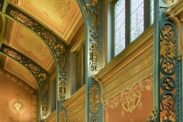 Wrought Iron「Bibliotheque Solvay」:写真・画像(6)[壁紙.com]