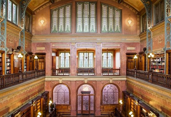 Ceiling「Bibliotheque Solvay」:写真・画像(1)[壁紙.com]