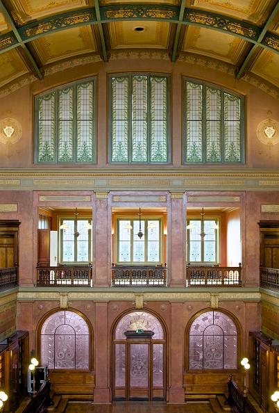 Ceiling「Bibliotheque Solvay」:写真・画像(7)[壁紙.com]