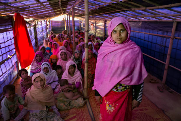 "Bangladesh「Rohingya Women Find Safe Haven In ""Widow's Village"" At Cox's Bazar」:写真・画像(19)[壁紙.com]"