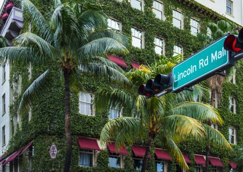 マイアミビーチ「Miami Beach, Lincoln Road.」:スマホ壁紙(18)