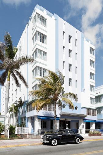 Miami Beach「マイアミビーチの建築」:スマホ壁紙(19)