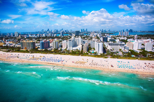 Miami Beach「マイアミ ビーチ フロリダ航空」:スマホ壁紙(15)