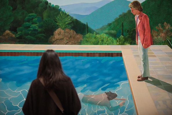 Artist「Extensive Exhibition Of David Hockney Paintings Previews At The Tate Britain」:写真・画像(0)[壁紙.com]