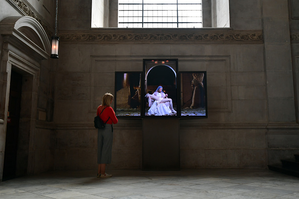 Installation Art「Video Art Installation Is Unveiled At St Paul's Cathedral」:写真・画像(3)[壁紙.com]