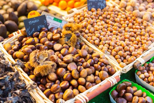 栗「Fresh Chestnuts or Marron」:スマホ壁紙(4)