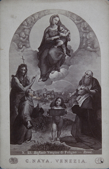 1870-1879「Vergine Di Foligno. About 1870. Photograph By C. Naya / Venezia. Based On A Painting By Raphael.」:写真・画像(11)[壁紙.com]