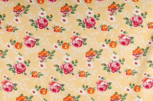 Floral Pattern「Farmers Floral Medium Antique Fabric」:スマホ壁紙(10)