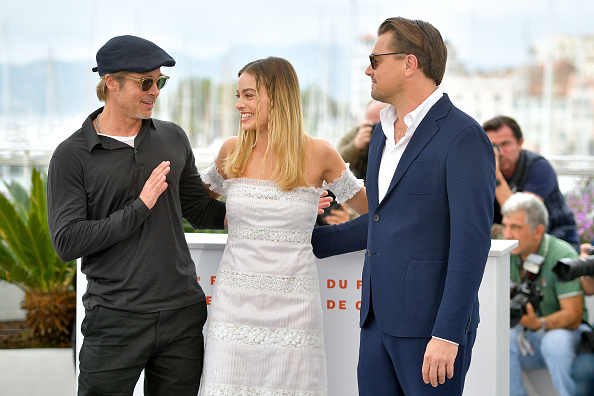 """Photo Call「""""Once Upon A Time In Hollywood"""" Photocall - The 72nd Annual Cannes Film Festival」:写真・画像(15)[壁紙.com]"""