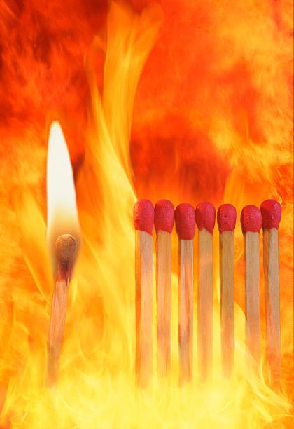 Match sticks catching fire:スマホ壁紙(壁紙.com)