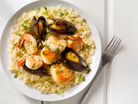 Italian Parsley「Seafood Risotto with Fresh Parsley」:スマホ壁紙(10)
