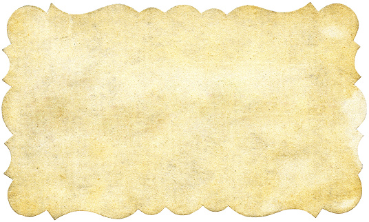 Sepia Toned「Vintage ornate paper with shaped border」:スマホ壁紙(2)