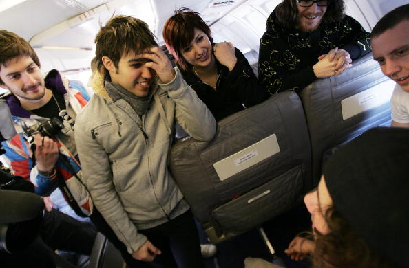 "Passenger Cabin「MTV Presents ""Infinity Flight 206 With Fall Out Boy""」:写真・画像(13)[壁紙.com]"
