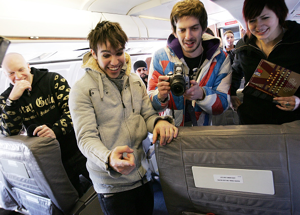 "Passenger Cabin「MTV Presents ""Infinity Flight 206 With Fall Out Boy""」:写真・画像(7)[壁紙.com]"