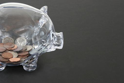 米国硬貨「クリアピギー銀行、硬貨のお部屋です。」:スマホ壁紙(18)