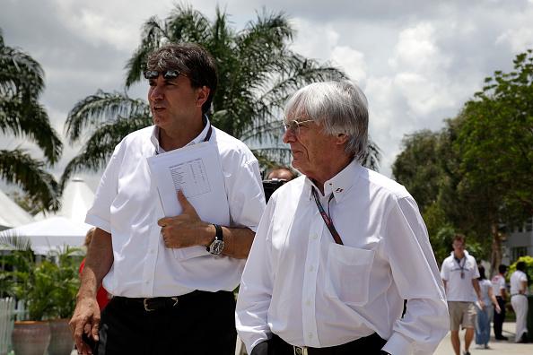 Malaysian Formula One Grand Prix「Bernie Ecclestone, Pasquale Lattuneddu, Grand Prix Of Malaysia」:写真・画像(16)[壁紙.com]