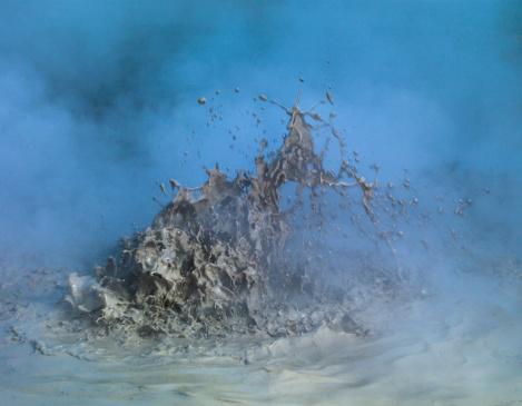 Spraying「Geothermal Mud Pot」:スマホ壁紙(16)