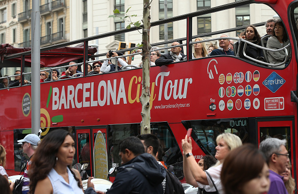 スペイン バルセロナ「Barcelona: Tourism And Daily Life As Independence Crisis Deepens」:写真・画像(9)[壁紙.com]