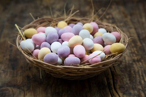 Chocolate Easter Egg「Easter nest of Chocolate Easter eggs」:スマホ壁紙(10)